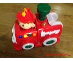 Hračka hasičské autíčko