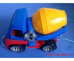 Plastové autíčko LENA Truxx domíchávač
