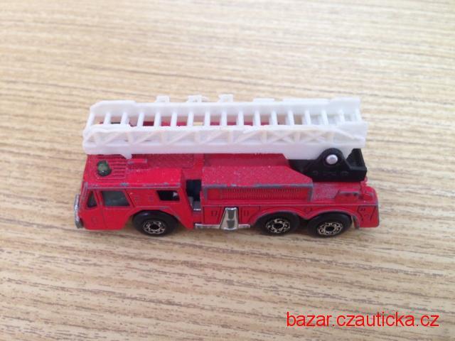 matchbox - hasičské autíčko angličák 1982