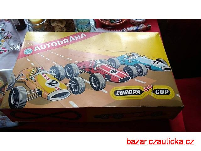 Autodráha Europa Cup + 2 autíčka Lotus