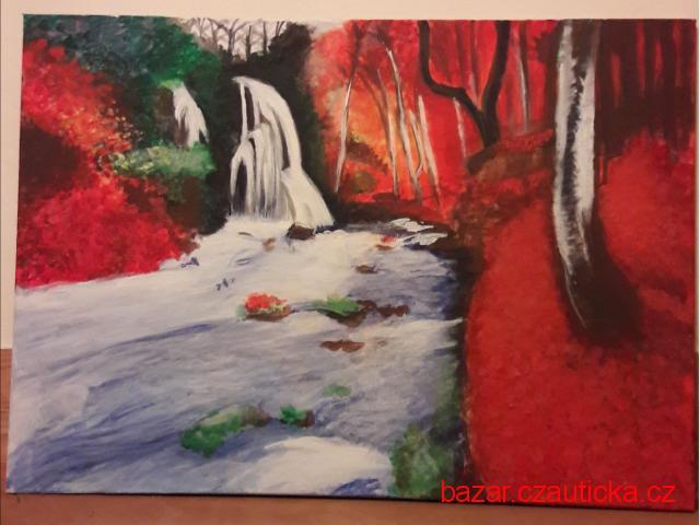 Obrazy akryl na plátně