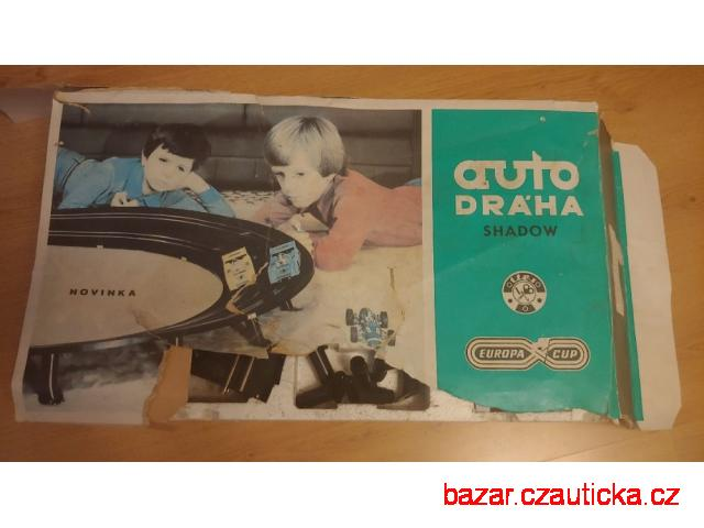 Stará hračka autodraha Shadow